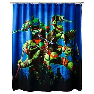 Nickelodeon Teenage Mutant Ninja Turtles Heroes Shower Curtain