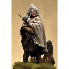 Art Girona Crow Plains Indian 1850/1860's 54mm Modelo Sin Pintar Kit Latorre