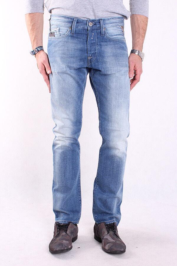 REPLAY m983 m983 m983 606 706 010 Waitom, Uomo Jeans, Pantaloni, Denim, Blu, trousers e575b7