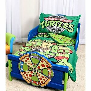 image is loading new teenage mutant ninja turtles 3 piece toddler - Ninja Turtles Toddler Bedding Set