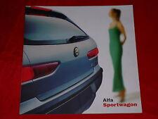 ALFA ROMEO 156 Sportwagon 1.6 T.Spark - 2.4 JTD Prospekt von Mai 2000