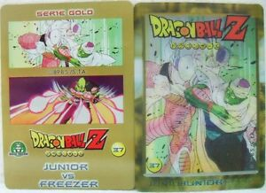 Dragon-Ball-Z-034-Junior-Vs-Freezer-034-Giochi-Preziosi-serie-GOLD-n-37-lenticolare