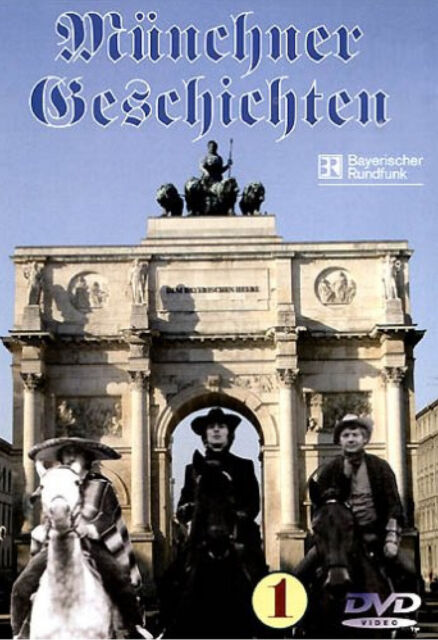Münchner Geschichten 1 -  Dreiviertelreife + Glücksach + Rosenzauber - Kult