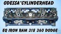 Eq Iron Ram Dodge 318 360 Magnum Ohv Cylinder Head No Core