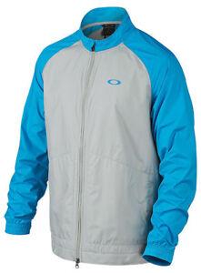 Oakley-Men-039-s-Bryant-Golf-Jacket-Pacific-Blue