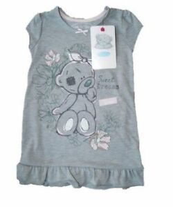 b16230416 GIRLS TATTY TEDDY ME TO YOU SHORT SLEEVE NIGHTIE AGES 12-18 months ...