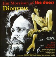 Jim Morrison - Dionysus Poet Prophet Rock Icon [new Cd] Uk - Import on Sale