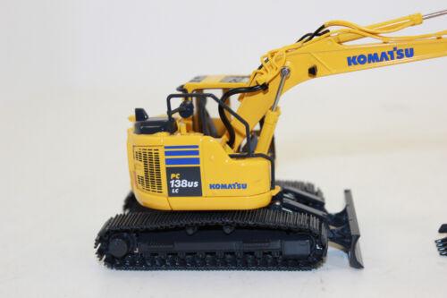First Gear 50 3360 Komatsu kettenbagger PC 138 us lc-11 1:50 nuevo en OVP