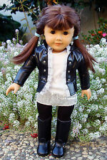 Super Star Doll Outfit & Shoes Fits American Girl // Motorcycle HOLIDAY SPECIAL