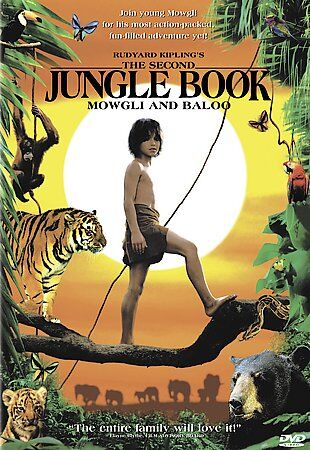 Rudyard Kiplings The Second Jungle Book: Mowgli and Baloo (DVD, 2001)