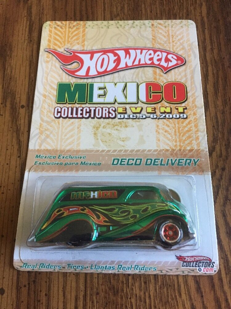 Hot Wheels 2009 Mexico Collectors Event Convention Deco Delivery 1227 of 5000