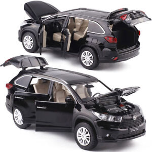 Toyota-Highlander-SUV-1-32-Diecast-Model-Car-Toy-Collection-Sound-amp-Light-Gift
