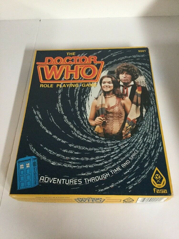 The Doctor Who Roleplaying Game RPG 1985 FASA 9001