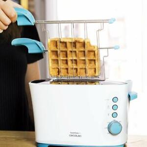 Cecotec-Grille-Pain-avec-Pinces-Toast-amp-taste-2S-7-Niveaux-2-3-Fonctions