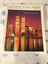 1992 NOVEMBER ARCHITECTURAL DIGEST MAGAZINE~NEW YORK FRONT COVER~L.N. EXCELLENT!