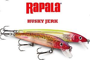 Rapala-Husky-Jerk-HJ-14-1-2-oz-5-1-2-034-Choice-of-Colors