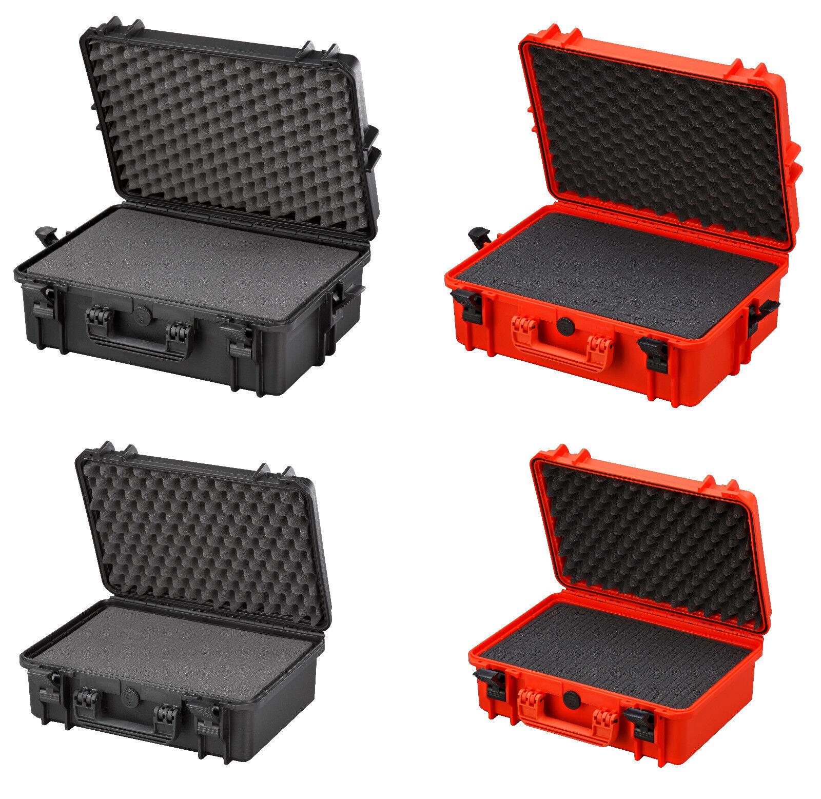 Kunststoffkoffer Werkzeugkoffer Wasserdichter Koffer Transportkoffer mit Einlage