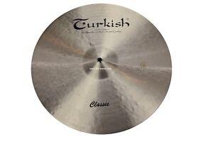 TURKISH-CYMBALS-Becken-18-034-Crash-Classic-bekken-cymbale-cymbal-1352g