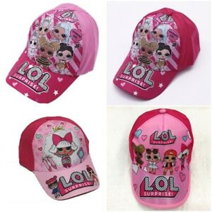 00285ebac Details about LOL Surprise Doll Baseball Cap Kids Children Girls Summer  Adjustable Sun Hat