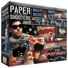 PAPER SHOOTERS CONSTRUCTION KIT BAUSATZ TACTICIAN PATRIOT GEWEHR PAPIERKUGELN