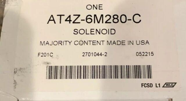 Genuine Ford Control Valve Solenoid AT4Z-6M280-C