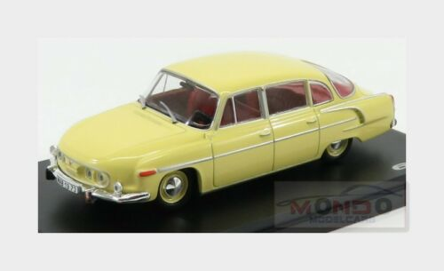 Tatra 603 4-Door 1969 Light Yellow ABREX 1:43 143ABS-401GW