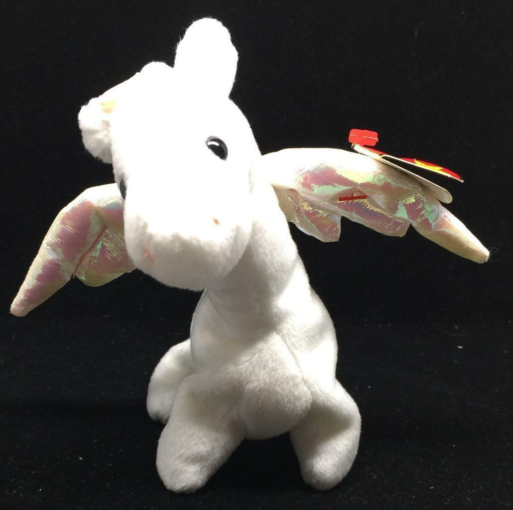 TY BEANIE BABY 1ST EDITION 1995 VERY RARE  MAGIC THE DRAGON  GREAT CONDITION