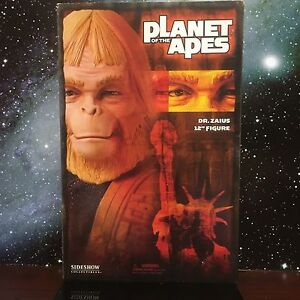 2004-SIDESHOW-PLANET-OF-THE-APES-DR-ZAIUS-12-034-ACTION-FIGURE-MIB