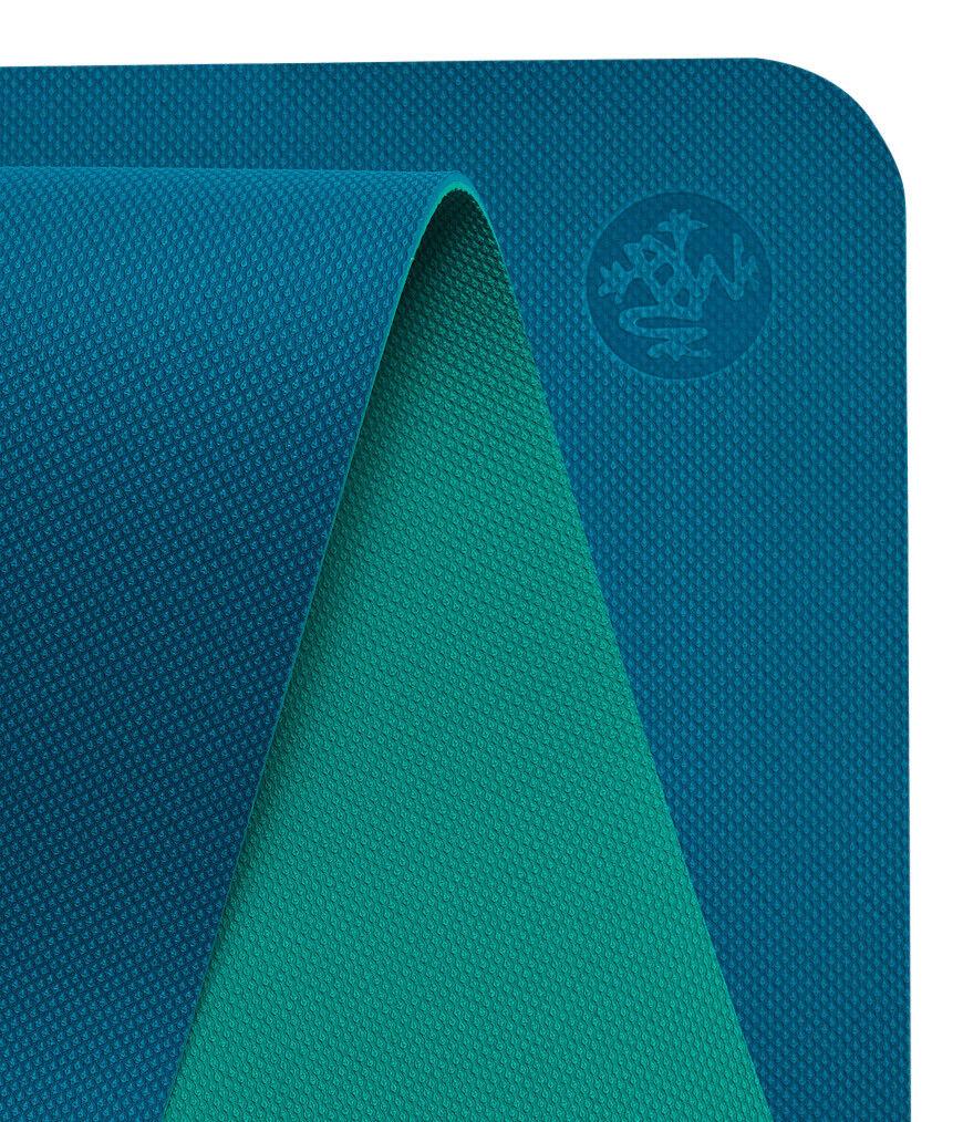 Manduka Welcome 5mm Harbour Yoga Mat Grippy Texture Lightweight Lightweight Lightweight Eco Friendly 174cd6