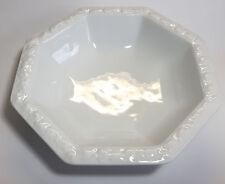ROSENTHAL Maria white porcelain 21cm SALAD BOWL 8-sided 4012438096964 Porzellan