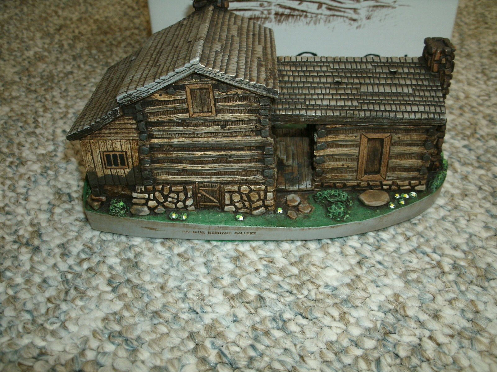 Cades Cove Series Elijah Oliver Cabin - American Heritage - COA and Box - Mint