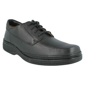 sale stonehill pace mens clarks black leather lace up