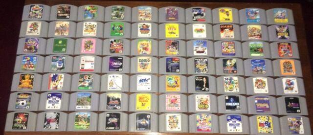 Nintendo 64 Japan Games Fun Pick and Choose N64 Video Games Lot