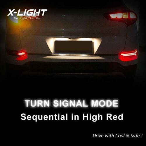 Rear Bumper LED Reflector Light Lamp Assy L+RH for HYUNDAI 2016 2017 Tucson TL