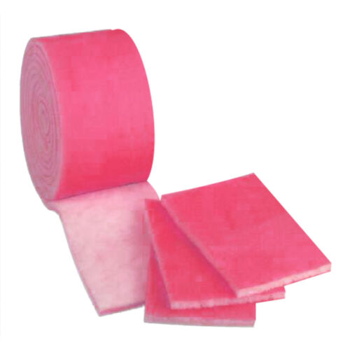 """6 Ft of 12/"""" Pink Aquarium /& Pond Fiber Floss Bulk Filter Media Roll"""