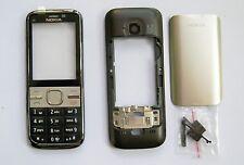 Black Housing cover Case fascias facia faceplate For Nokia C5 C5-00   -009- 9988