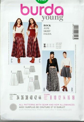 OOP Burda Sewing Pattern Misses Size with Plus Sizes You Pick