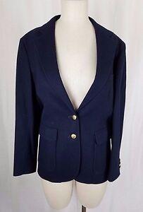 Womens laine Bean Vintage 2 80 en Blazer Veste 12 Boutons Ll USA équitation Manteau 1qz5pxxw