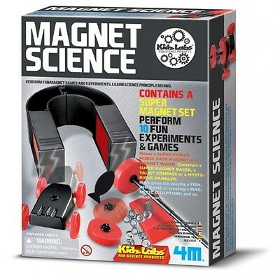 Magnet Science, Experiments And Games Science Kit Toysmith Science Fair Project