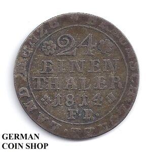24-einen-Thaler-1814-Braunschweig-Silber-1-24-Taler