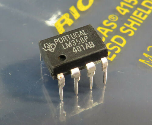 20x LM358P Dual Operational Amplifier Texas Instruments