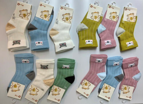 12 Pack of Children/'s Socks Mother/'s Choice Breathable and Soft Non-skid