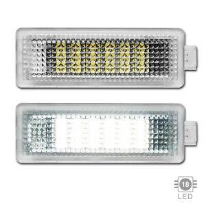 2x LED Innenraum Fussraum Einstieg Kofferraum Beleuchtung Land Rover Ford