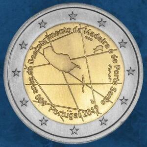 Portugal-600-Jahre-Entdeckung-der-Insel-Madeira-2-Euro-2019-unc