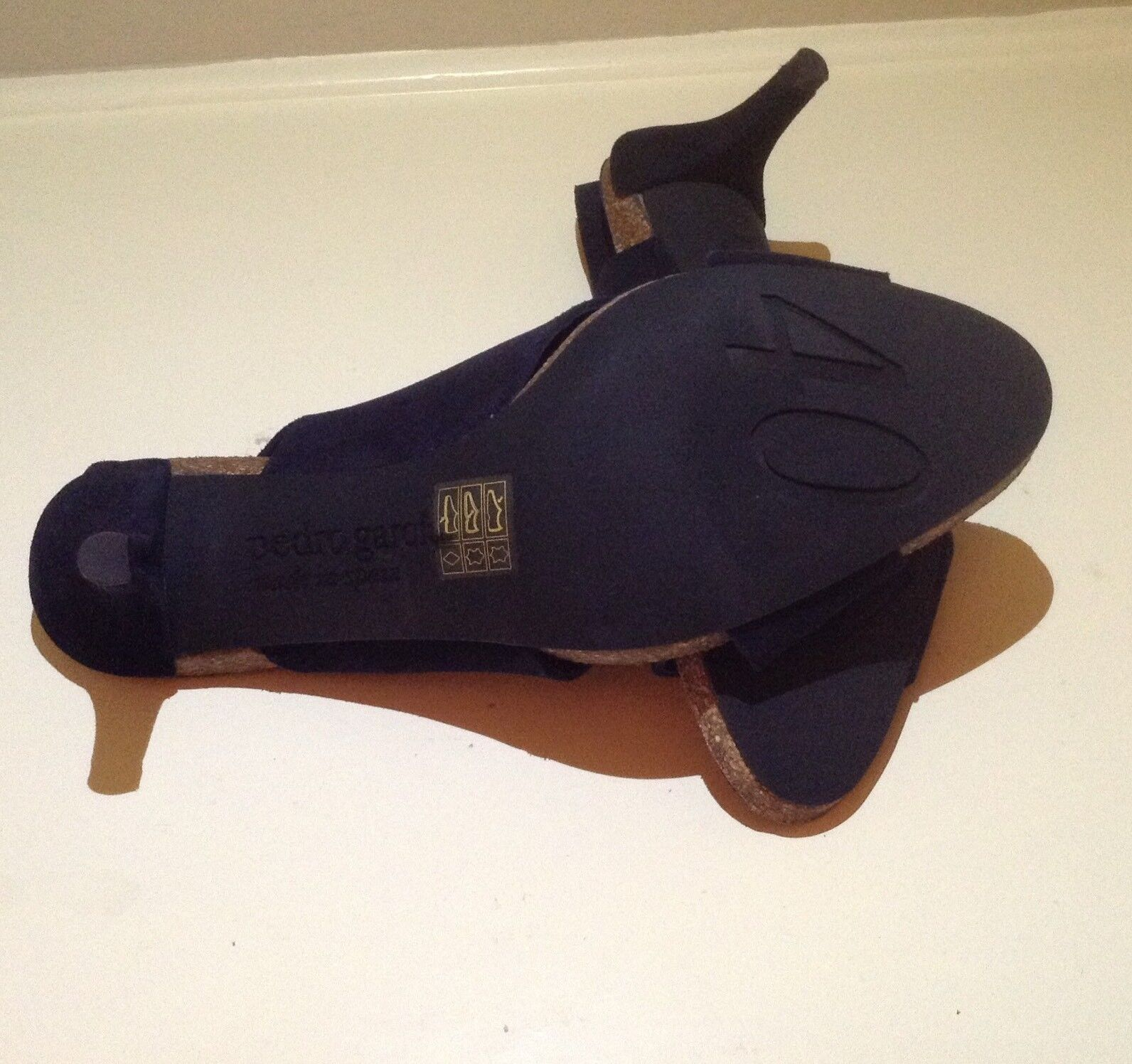 NWOB PEDRO GARCIA NAVY blueE SUEDE SHOES SIZE 40 40 40  MAGGIE  386762