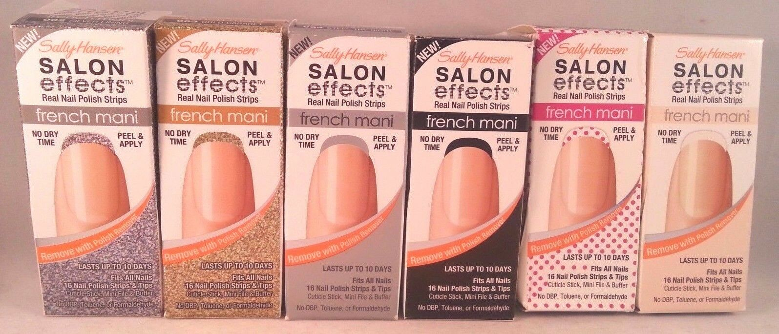 French Manicure Nail Polish Strips - Creative Touch