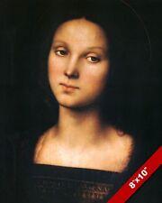 BEAUTIFUL YOUNG SANTA MARIA MADDALENAPORTRAIT PAINTING ART REAL CANVAS PRINT