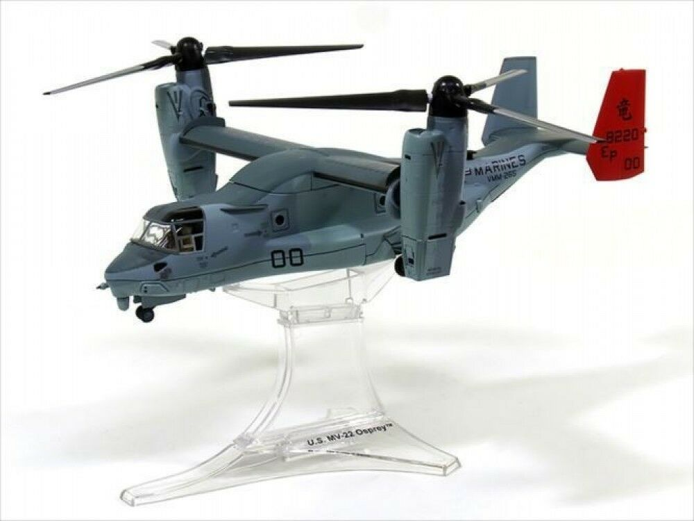 Diecast Helicopter 1/72 MV22 Osprey American Navy Futanma Base Plane Model Japan
