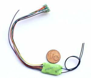 LaisDcc-Decoder-Chip-11-Wire-NEM652-8-Pin-2-Wires-Stay-Alive-Part-No-860021-DCC