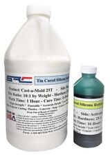 Cast-a-Mold 25T High Strength RTV Silicone Rubber for Mold Making 1/2 Gallon